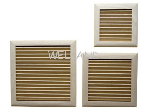 wooden wall vents, wooden wall registers, wood air grilles, wooden diffusers