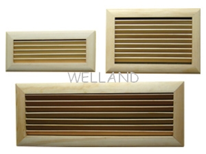 wooden wall vents, wooden vents, air registers